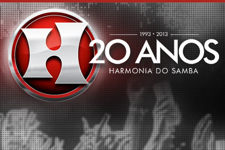 Site Harmonia do Samba 20 anos
