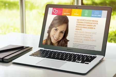 Site Anaju Mídias Sociais