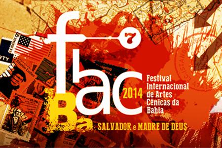 Site Festival Internacional de Artes Cênicas – Fiac Bahia